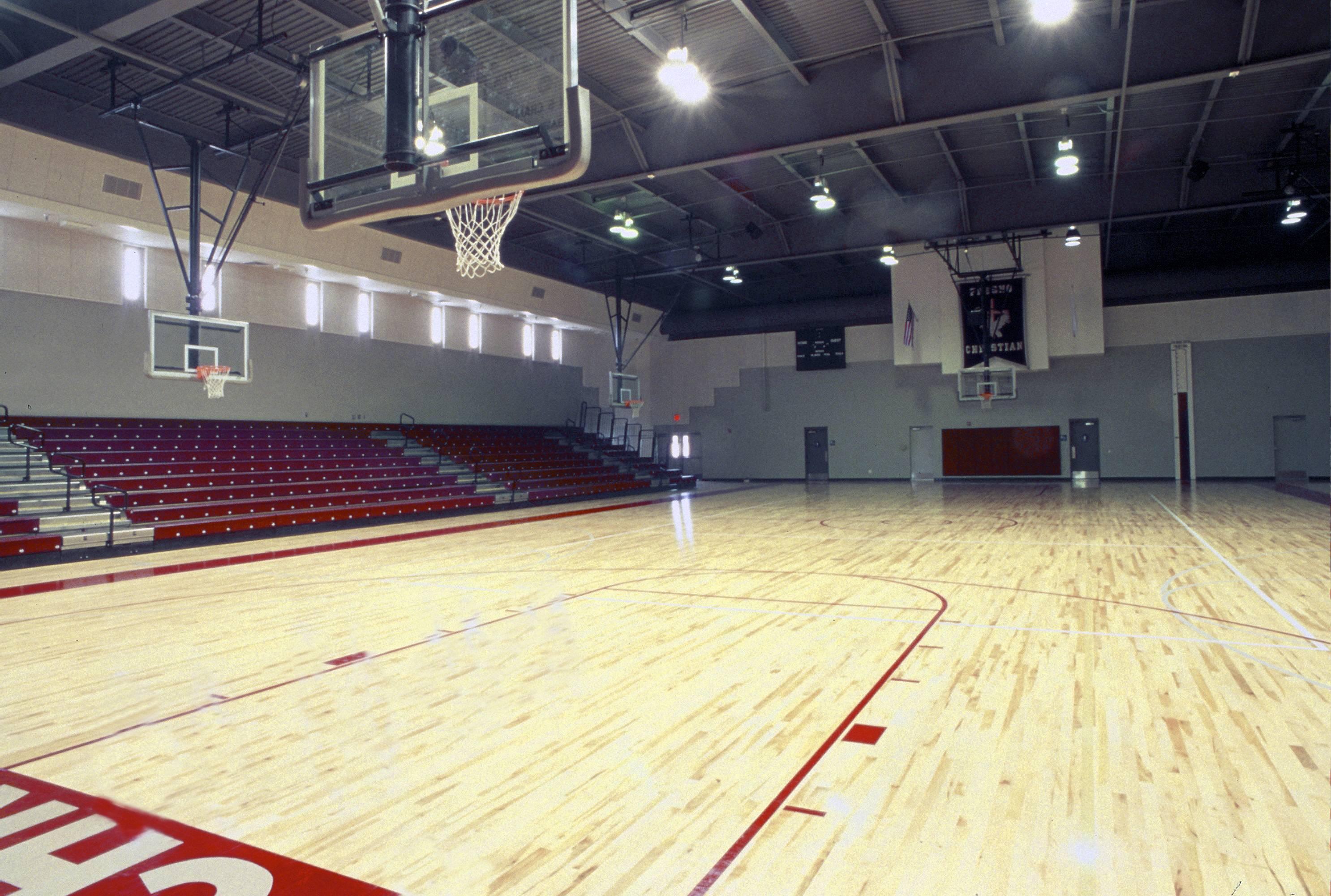 Fresno Christian Gymnasium Johnson Air