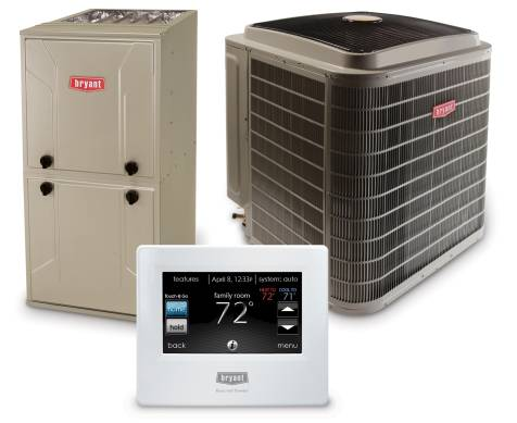 Bryant Residential Air Conditioning Products